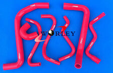 1997-2002 FOR HOLDEN VT/VX/VU/WH Commodore V6 3.8L Silicone Radiator Hose red