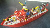Lego 4031 Fire Rescue Ship with Instructions Vintage