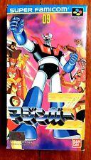 MAZINGER Z  SUPER FAMICOM SFC SNES JAPAN (NTSC-J) GOOD CONDITION