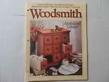 Woodsmith February 1995 No. 97 Apothecary Cabinet, Classic Sideboard, Veneering
