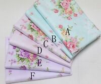 50cm*160CM Flower 100%cotton fabric Quilting Quilt Clothes Bedding Sewing DIY07