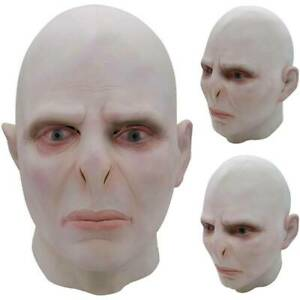 Halloween Voldemort Haunted Scary Full Face Mask Cosplay Costume Fancy Dress Up