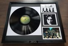 Abbey Road The Beatles Framed Vinyl Album John Lennon Paul McCartney Ringo