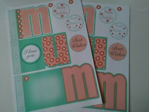 Mini Album / word book/ card kit, Mother Day, Mum, card making, gift, crafts