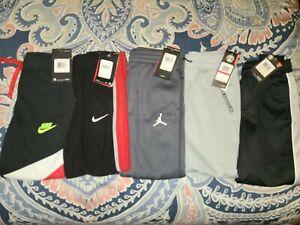 NWT Lot 5 Boy's UNDER ARMOUR NIKE JORDAN ~SIZE 7~ Fleece Jogger Athletic Pants