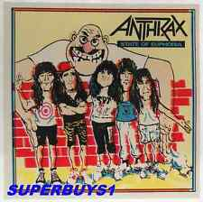 "ROCK AND ROLL BAND ""ANTHRAX"" AUTHENTIC VINTAGE 80's EUPHORIA CONCERT STICKER"