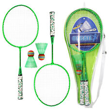 1 Paar Badmintonschläger mit Bällen 2 Spieler Badminton Set für Kinder K9T9
