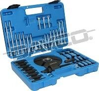POWERBOND DAYCO HARMONIC BALANCER REMOVAL & INSTALL KIT 52 PIECES  ENGINE PULLEY