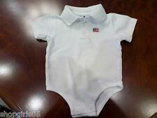 New listing Boys American Flag One Piece Outfit - Size 12 Months