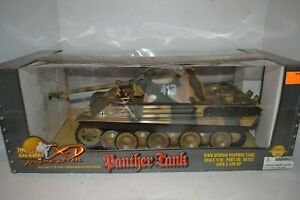 ULTIMATE SOLDIER PANTHER TANK - YEAR 2000 1/18 SCALE