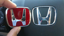 honda jdm red steering wheel emblem type B civic si s2000 Fit