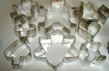 Vintage Tin Cookie Cutters Lot w/ Doughnut Makers