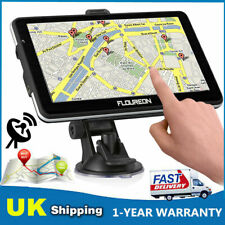 "7"" LCD Touch Truck Car GPS Navigation System 8GB SAT NAV Free Lifetime UK+EU Map"