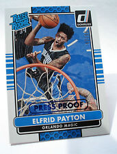 2014-15 Donruss nba elfrid payton Rated Rookie Press proof Blue #206 - 92/99