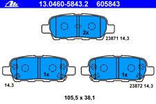 Bremsbelagsatz Scheibenbremse - ATE 13.0460-5843.2