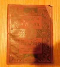 Antique 1883 Handy Atlas of the World Ivison, Blakeman, Taylor Publishers