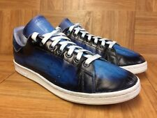 new product b744a f339d VNTG🔥 Adidas Stan Smith Distressed Cool Blue Custom Painted Sz 9.5 Men s  Shoes