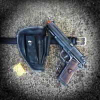 Steampunk Gun+Holster+Belt AIRSOFT SPRING BB GUN Pellet man TOY walking Zombie
