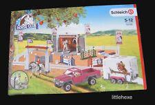 Schleich - 72105 großes Reitturnier mit Pick-up und Pferdeanhänger