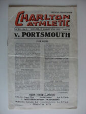 Portsmouth Away Team Division 1 Football Programmes