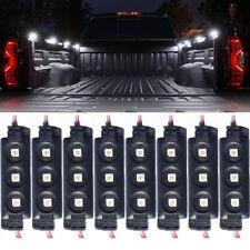 8X HID White LED Strip Pod Panel for Trucks Boat JEEP ATV Under Body Rock Lights