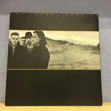 U2 The Joshua Tree 1987 UK vinyl LP EXCELLENT CONDITION  Brian Eno gatefold