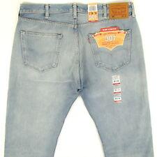 Levis 501 Jeans Original New Mens Size 38 x 34 LIGHT BLUE FADE Levi's NWT
