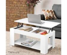 Lift-up Table Top Coffee Table with Hidden Book Laptop Storage Shelf Cabinet