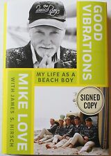 Good Vibrations My Life As a Beach Boy Signed by Mike Love 2016 HC Book Autograp