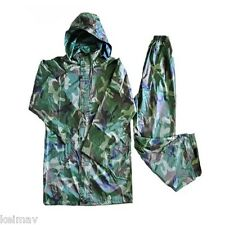 Adult Raincoat and Pants (Camouflage)