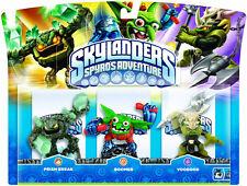 Skylanders spyros Adventure Prism Break + Boomer + voodood Wii ps3 Xbox 360 3ds