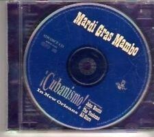 (CT498) Mardi Gras Mambo, Cubanismo! - 2000 DJ CD