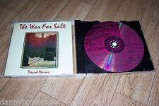 David Harris NM CD The War For Salt singer songwriter (voice similar to Sting )