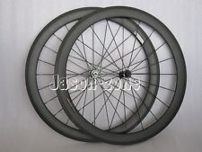 50mm carbon bike clincher wheels bicycle road racing wheelset 700c