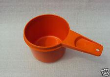 Vintage Tupperware Part Measuring Cup Pumpkin Orange 3/4 Cup Size