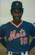 George Foster, New York Mets, 1986 - 25 Anniversary Baseball Postcard 1962-1986