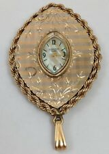 Pendant Watch Gemmarius 14K Yellow Gold