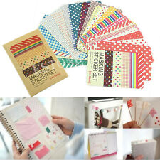 27PCS/LOT Washi Scrapbook Masking Stickers Tape Craft Pack Decorative Labelling