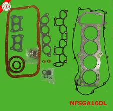 Fits 95-99 Nissan Sentra 200SX 1.6L DOHC Full Gasket Set NFSGA16DL