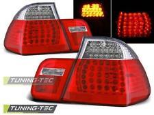 LED luci posteriori per BMW e46 BERLINA 09.01-03.05 rosso bianco LED