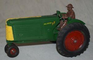 Vintage Slik Toys Oliver 77 Tractor - 1/16 Scale
