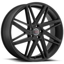 """Milanni 9062 Blitz 22x9 5x120 +35mm Satin Black Wheel Rim 22"""" Inch"""