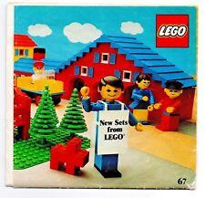 VINTAGE LEGO oggetti effimeri-catalogo illustrativo (GB Edizione senza i prezzi) - 1977