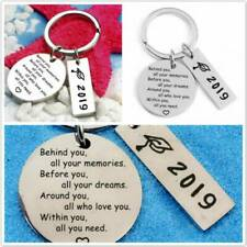 2019 Graduation Keychain Behind You All You Memorie Pendant DIY Keychain Keyring