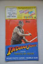 1984 Indiana Jones Temple of Doom Empty Bubble Gum Vintage Trading Card Box