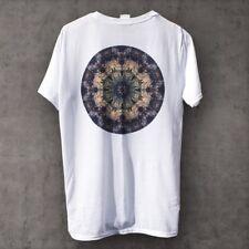 Geometría Sagrada ropa posterior impresión Mandala camiseta (como Obey Vans)
