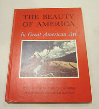 The BEAUTY of AMERICA in Great American Art - 1965, HC 120 + pictures, HC   EC