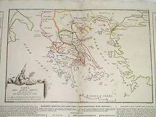 Carta Geografica Antica Grecia Giochi Olimpici Sette Meraviglie del Mondo Eroi