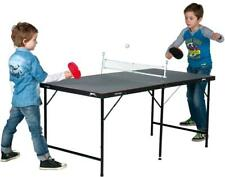 Slazenger Mini 5 Foot Table Tennis Ping Pong Folding with Net Bats Balls Indoor