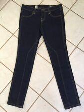 VOLCOM NEW! Women's Dark Wash Pistol Shortie Legging Fit Skinny Stretch Jeans 5